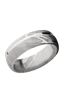 Lashbrook Damascus Steel Wedding band D7D11OC SS product image