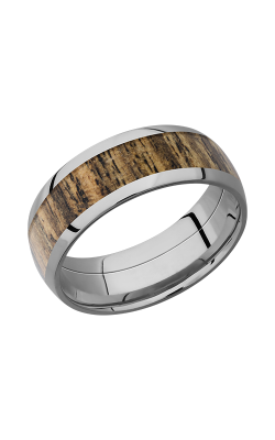 Lashbrook Hardwood Collection Wedding band HW8D15 BOCOTE product image