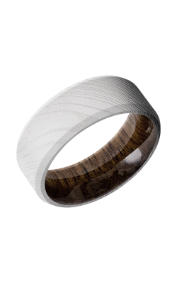 Lashbrook Hardwood Collection Wedding band HWSLEEVED8B WALNUT product image