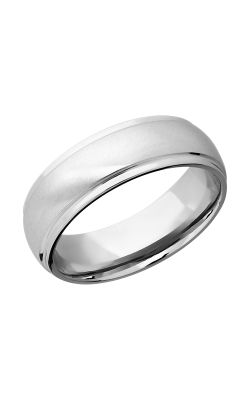 Lashbrook Precious Metals Wedding Band PLAT7DGE-P product image