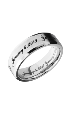 Lashbrook Cobalt Chrome Wedding band CC7B LCVFONTS product image