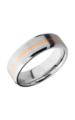 Lashbrook Cobalt Chrome Wedding band CC7B11-NS 14KR product image