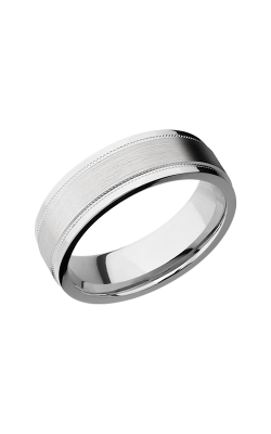Lashbrook Cobalt Chrome Wedding band CC7FGEW2UMIL product image