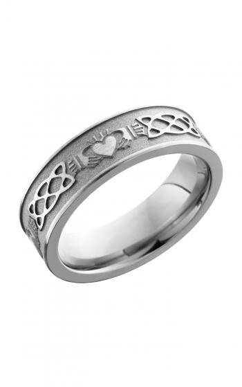 Lashbrook Titanium Wedding band 6FCLADDAGHCELTIC product image