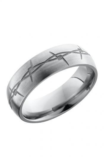 Lashbrook Titanium Wedding band 7DBARB product image