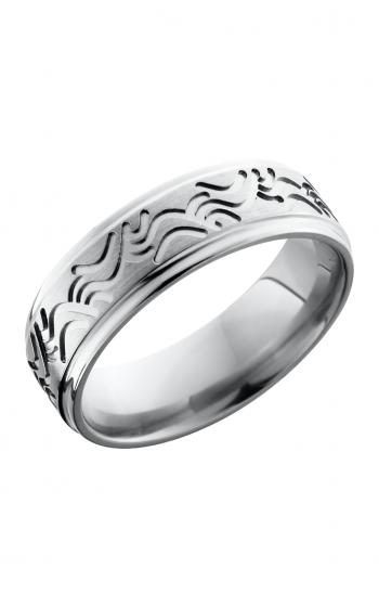 Lashbrook Titanium Wedding band 7FGEWAVE product image