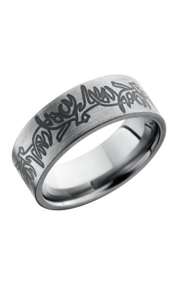 Lashbrook Titanium Wedding band 8FANTLERS product image
