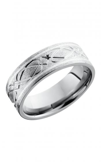 Lashbrook Titanium Wedding band 8FCELTICWEAVE2 5 SS product image