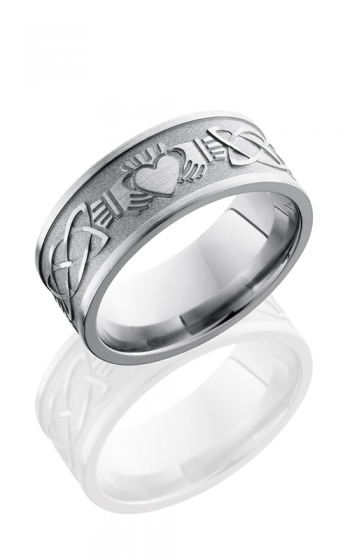 Lashbrook Titanium Wedding band 9FCLADDAGHCELTIC product image