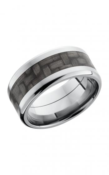 Lashbrook Carbon Fiber Wedding band C10B15 CF NS POLISH product image