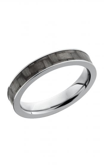 Lashbrook Carbon Fiber Wedding band C4F13 CF POLISH product image
