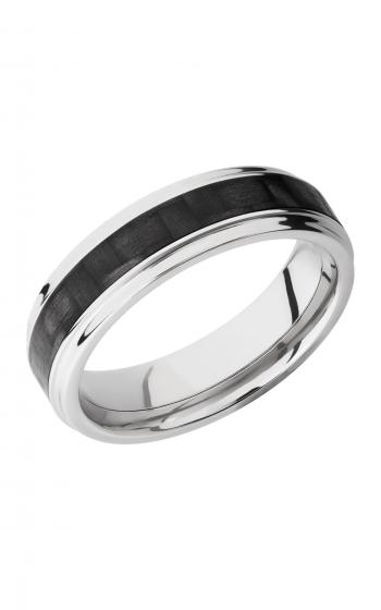 Lashbrook Carbon Fiber Wedding band C6FGE13 CF POLISH product image
