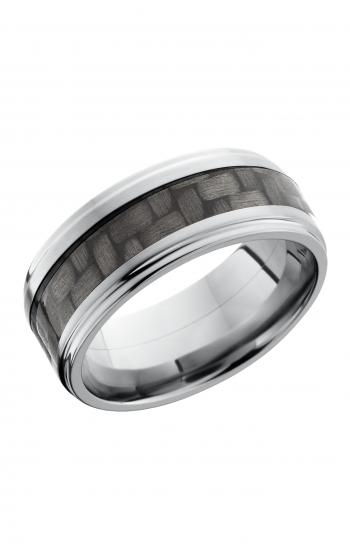 Lashbrook Carbon Fiber Wedding band C9FGE14 CF POLISH product image