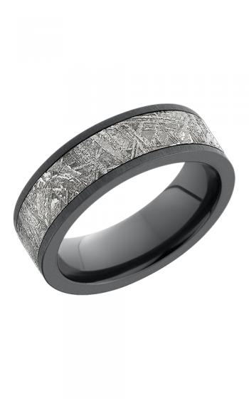 Lashbrook Meteorite Wedding band 7F15 METEORITE SANDBLAST product image