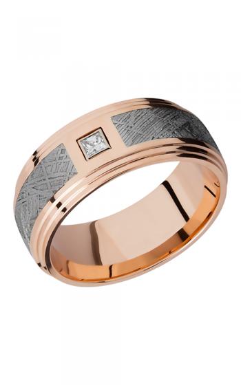 Lashbrook Meteorite Wedding band 14KR9F2S14 5SEG METDIAPRN product image