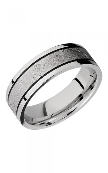 Lashbrook Meteorite Wedding band CC7 5F14 METEORITE MGA POLISH product image