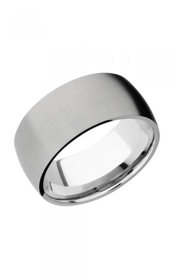 Lashbrook Cobalt Chrome Wedding band CC10D BEADBLAST product image