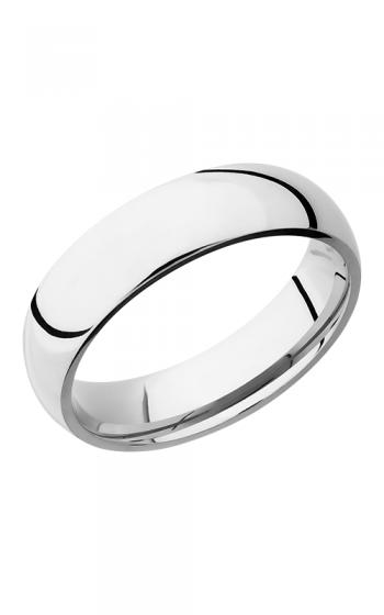 Lashbrook Cobalt Chrome Wedding band CC6D POLISH product image