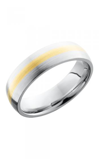 Lashbrook Cobalt Chrome Wedding band CC6D12-14KY SATIN product image