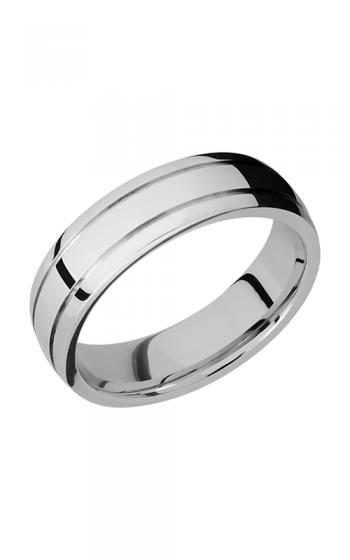 Lashbrook Cobalt Chrome Wedding band CC6D2.5 POLISH-ANGLE SATIN product image