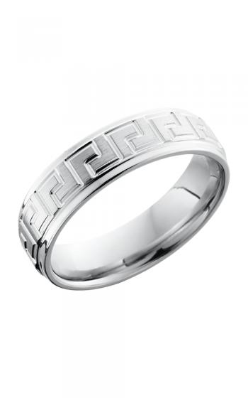 Lashbrook Cobalt Chrome Wedding band CC6FGEL SATIN-POLISH product image