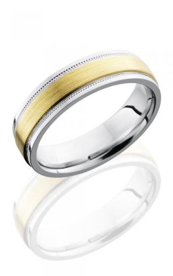 Lashbrook Cobalt Chrome Wedding band CC6FGEW2UMIL13C-14KY SATIN product image