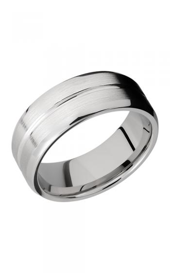 Lashbrook Cobalt Chrome Wedding band CC8B11 SATIN-POLISH product image
