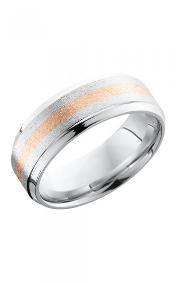 Lashbrook Cobalt Chrome Wedding band CC8B12-14KR S STONE-POLISH product image