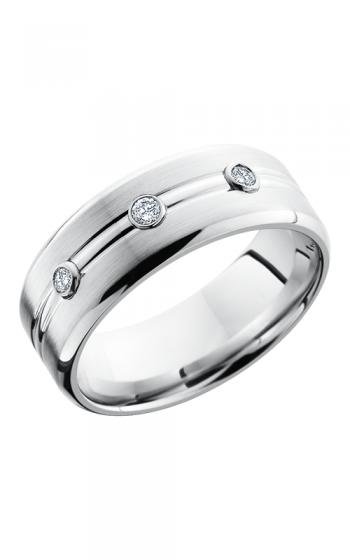 Lashbrook Cobalt Chrome Wedding band CC8BDDIA3X.05B POLISH-SATIN product image