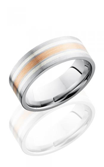 Lashbrook Cobalt Chrome Wedding band CC8F1221-14KRSS SATIN product image