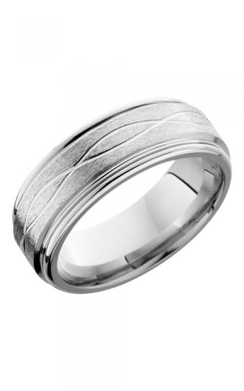 Lashbrook Cobalt Chrome Wedding band CC8REFINF STONE-POLISH product image