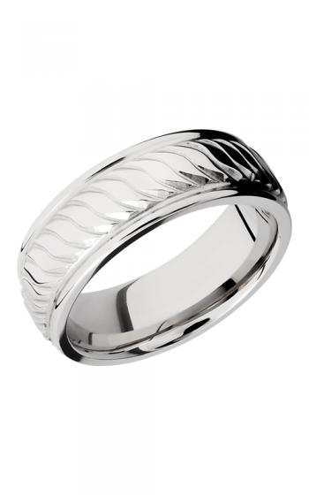 Lashbrook Cobalt Chrome Wedding band CC8REFTWIST POLISH product image