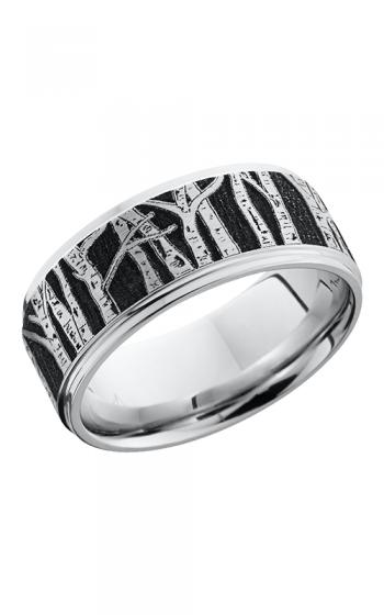 Lashbrook Cobalt Chrome Wedding band CC9FGE LCVASPEN SATIN POLISH product image
