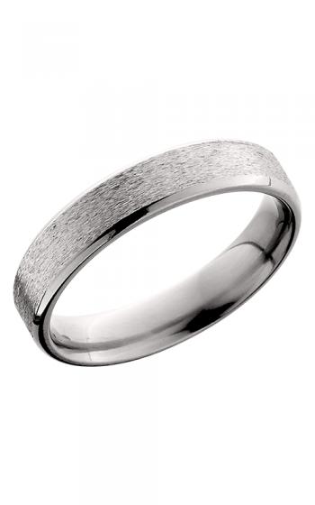 Lashbrook Titanium Wedding band 5B STONE POLISH product image