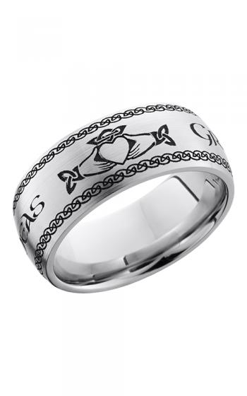 Lashbrook Cobalt Chrome Wedding band CC9D LCVCLADDAGH2 product image