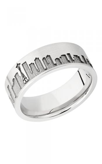 Lashbrook Cobalt Chrome Wedding band CC8F LCVSEATTLESKYLINE product image