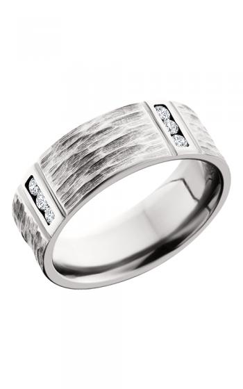 Lashbrook Cobalt Chrome Wedding band CC8FM4VLCHANNELDIA product image