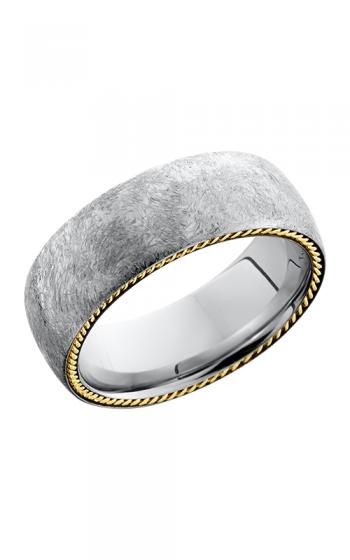 Lashbrook Cobalt Chrome Wedding band CC8DSIDEBRAID 14KY product image