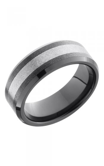 Lashbrook Tungsten Ceramic Wedding band TCR8335-STONE product image