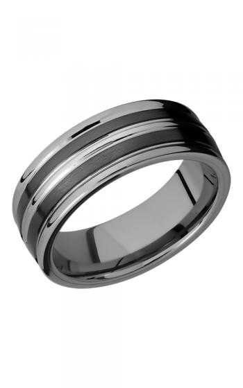 Lashbrook Tungsten Ceramic Wedding band TCR8347-SATIN product image