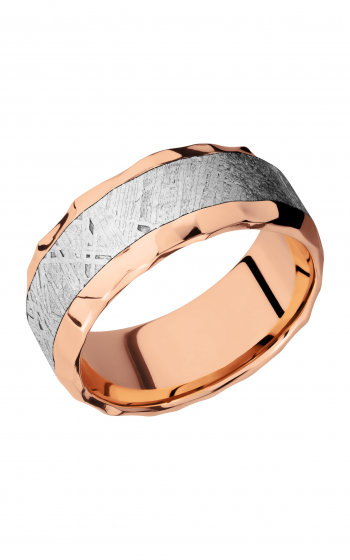 Lashbrook Meteorite Wedding band 14KR9B15 NS METEORITE product image