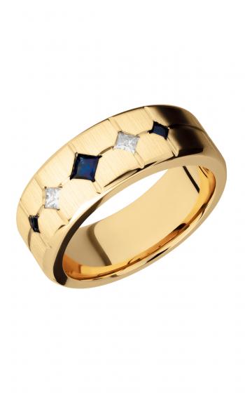 Lashbrook Precious Metals Wedding band 14KY8B3XSAPP2XDIA product image