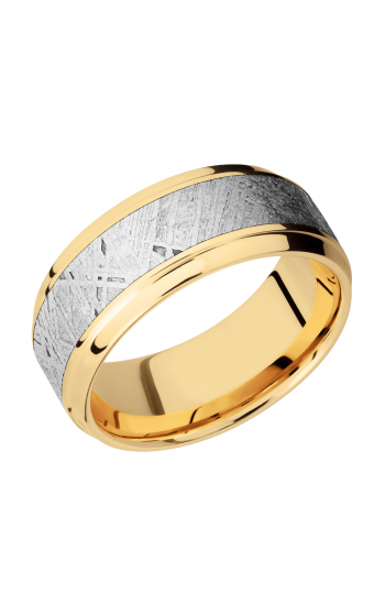 Lashbrook Meteorite Wedding band 14KY9B15 S METEORITE product image