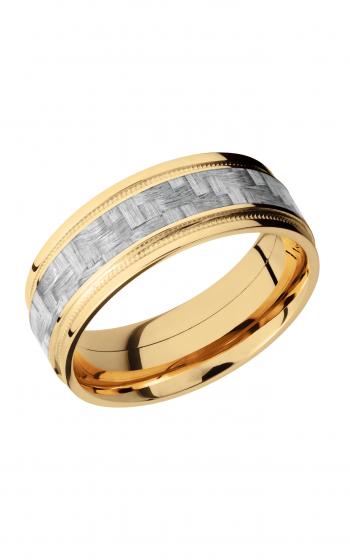 Lashbrook Carbon Fiber Wedding band 14KYC8FGEW2UMIL14 SILVERCF product image