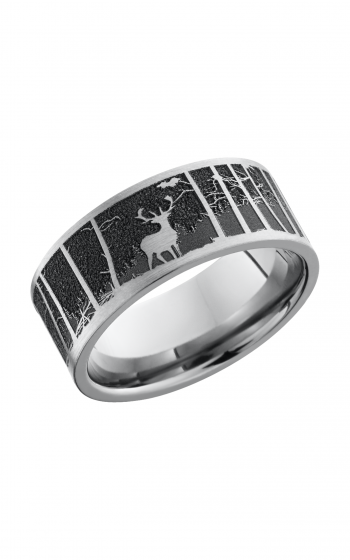 Lashbrook Titanium Wedding band 9F_LCVELKMOUNTAIN product image