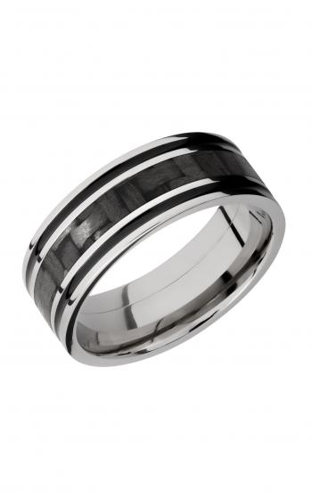 Lashbrook Carbon Fiber Wedding band C8F1321_CFA product image