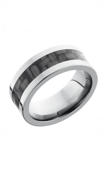 Lashbrook Carbon Fiber Wedding band C8F14_CF product image