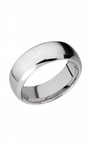 Lashbrook Cobalt Chrome Wedding band CC8DB product image