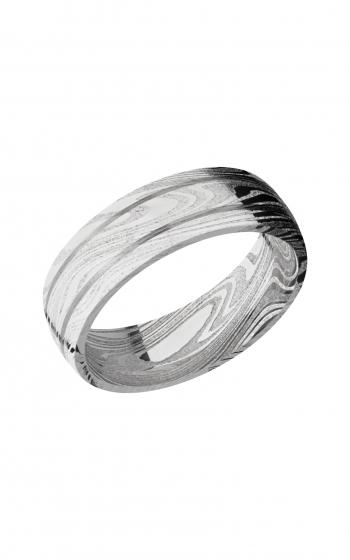 Lashbrook Damascus Steel Wedding band D7D2.5MARBLE product image