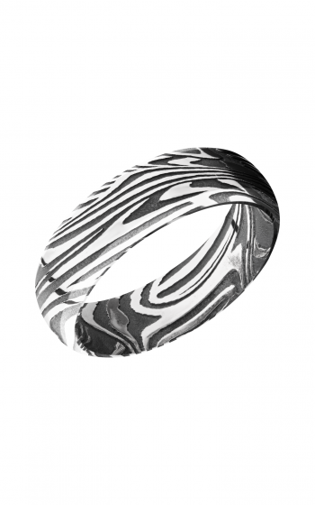 Lashbrook Damascus Steel Wedding band D7DBSUNSET product image